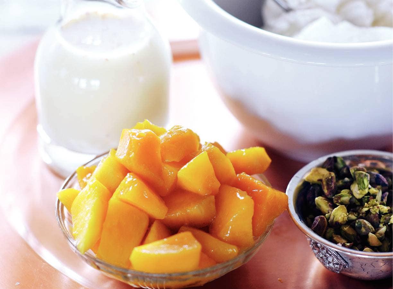 Mango lassi (Indiaas mangodrankje)