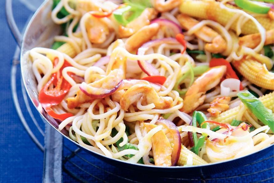 noedels wok recepten