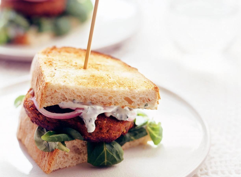 Sandwich met Marokkaanse schijf