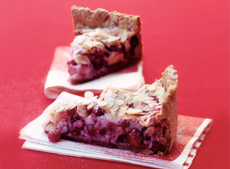 Cranberrytaart