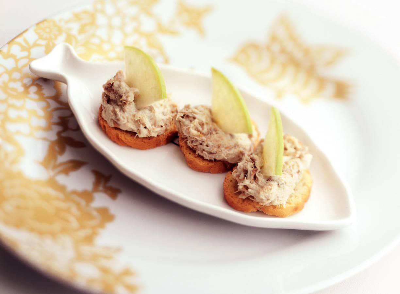 Toastje met makreelrillette