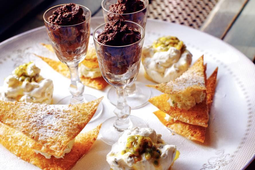 Grand Dessert Met 3 Variaties Recept Allerhande Albert Heijn