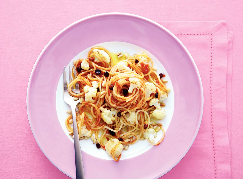 Siciliaanse bloemkoolspaghetti