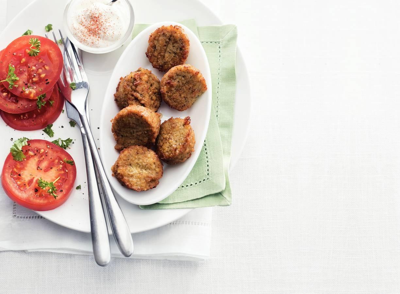 Falafel met tomatensla