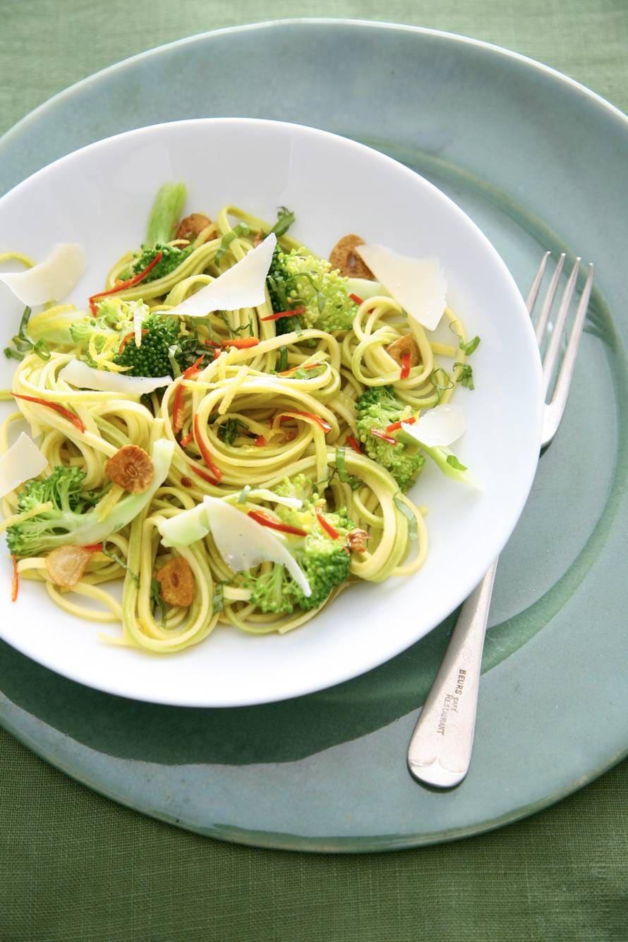 Tagliolini met broccoli