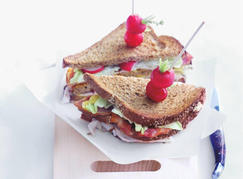Snelle clubsandwich