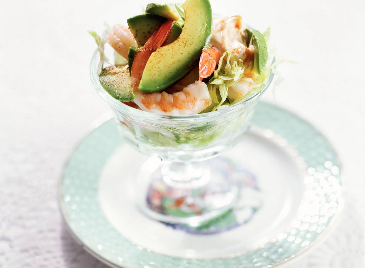 Avocadococktail met cayennepeper