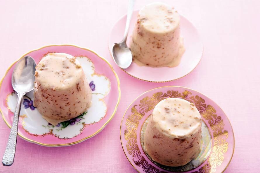 Yoghurt panna cotta met vijgen