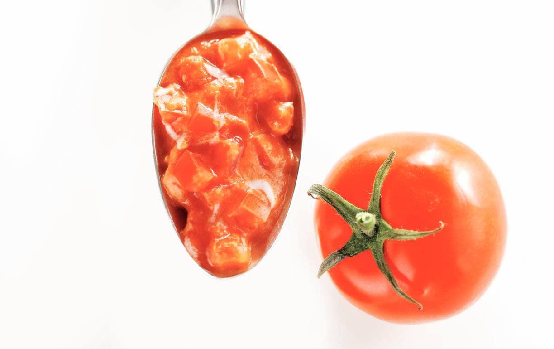 Tomaten-roomsaus