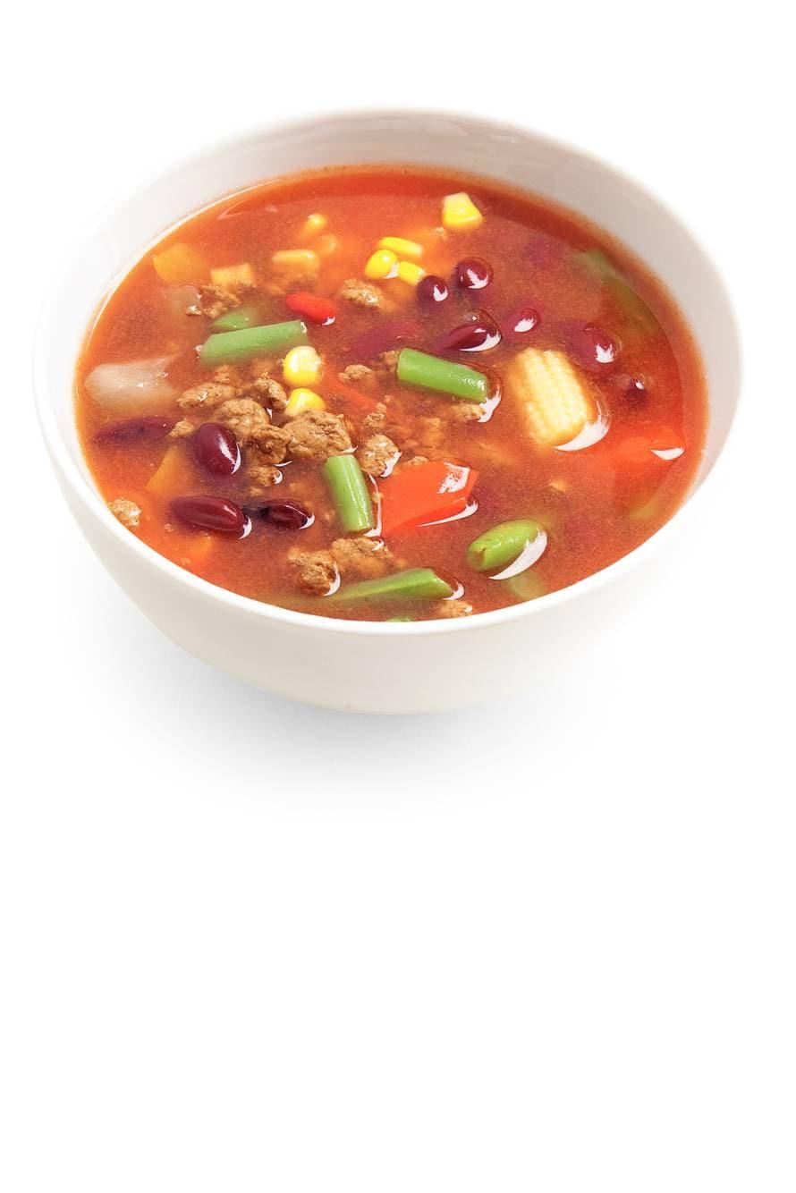 Bonen-groentesoep