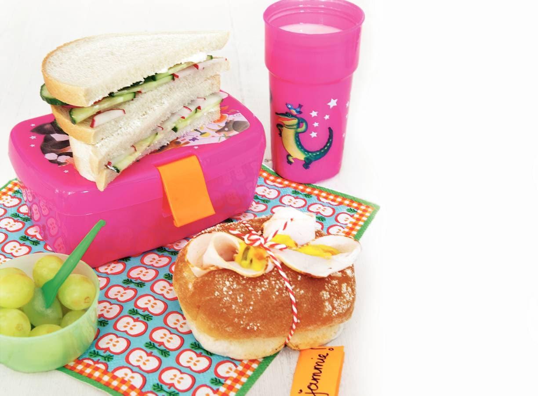 Rauwkostsandwich & broodje kip