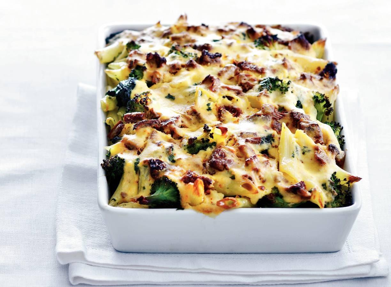 Ovenpasta met broccoli & spinazie