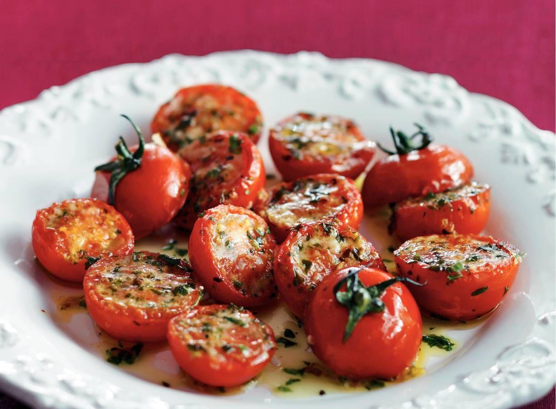 Gegrilde tomaten