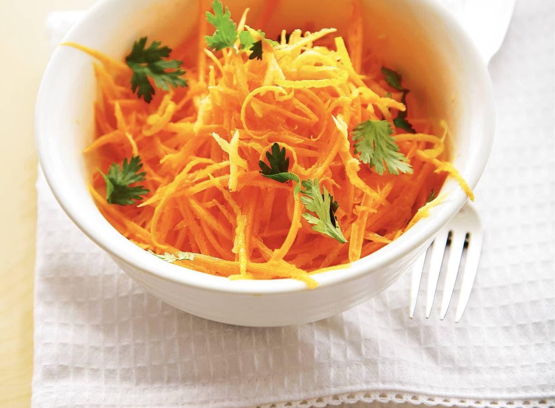 Wortel-citrussalade