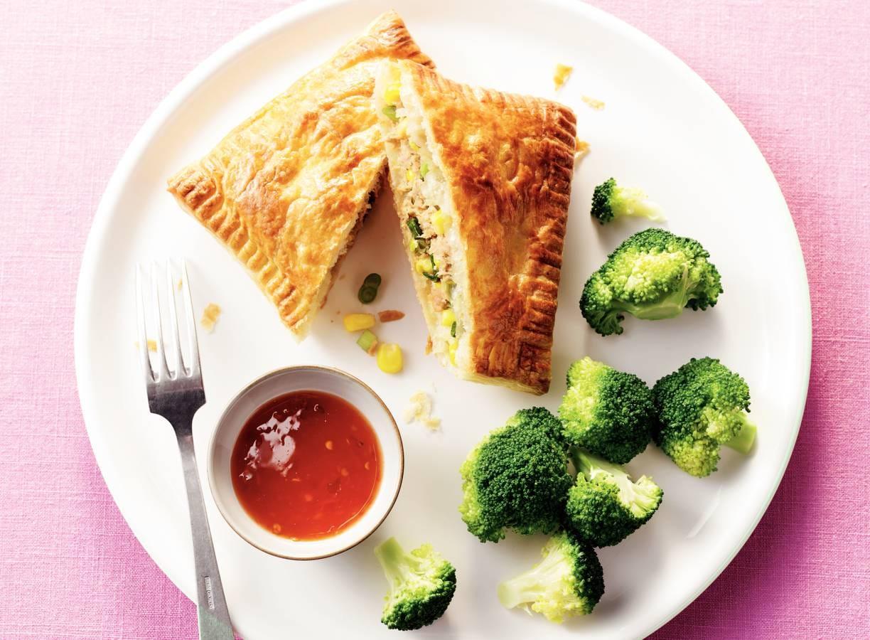 Oventonijn met broccoli