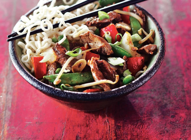 Beef shanghai