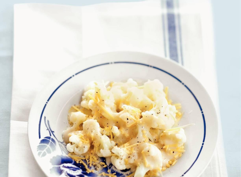 Bloemkool met bechamel en kaas