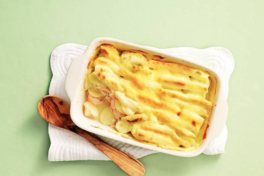 ovenschotel asperges aardappel