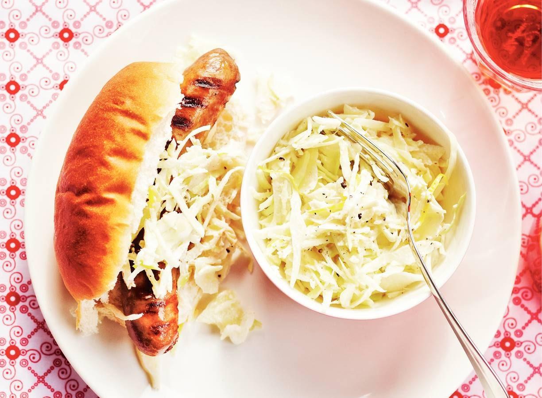 Braadworst-hotdog
