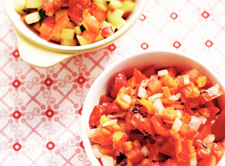 Paprika-tomaat-salsa