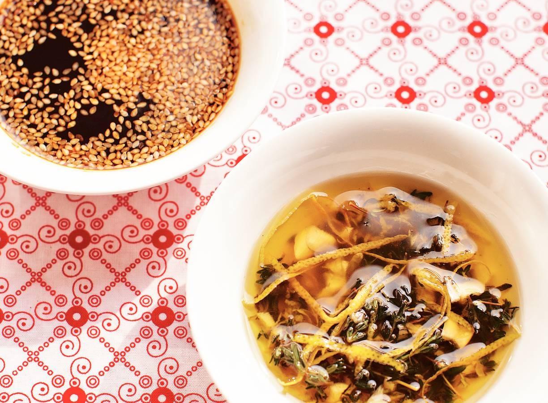 Marinade soja-honing-sherry