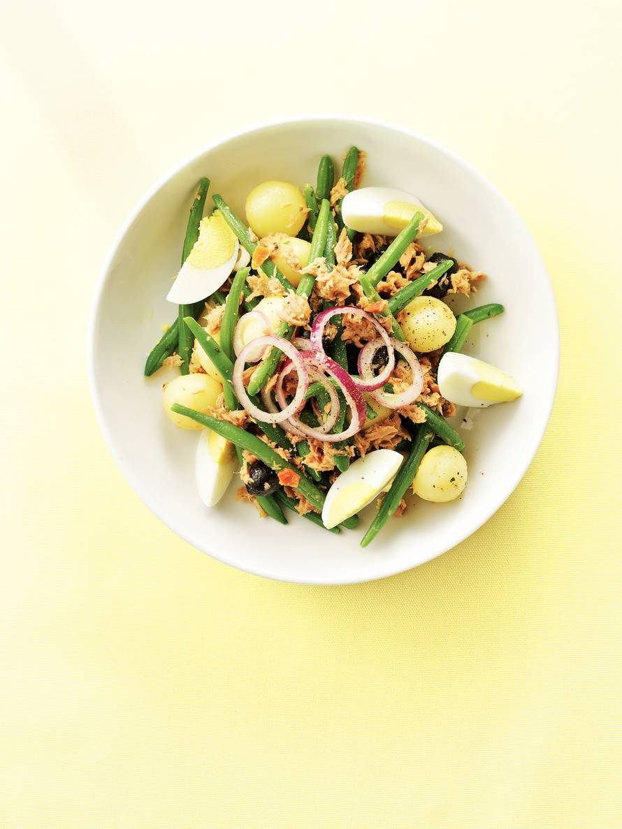 Zomerse salade niçoise