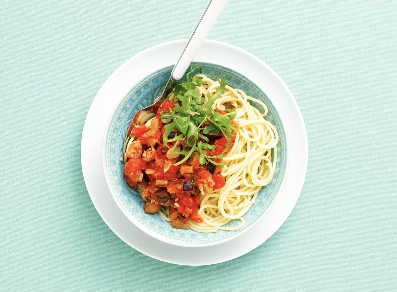 Spaghetti tonijnsaus