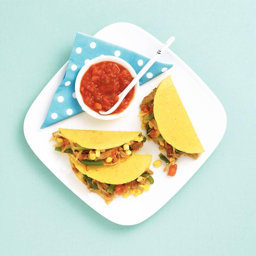 Taco's met groenten