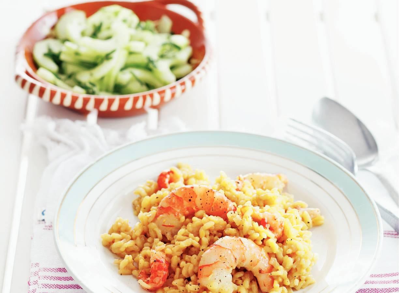Zeevruchten paella