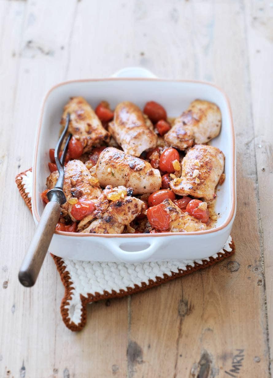 Kiprolletjes met tomaat