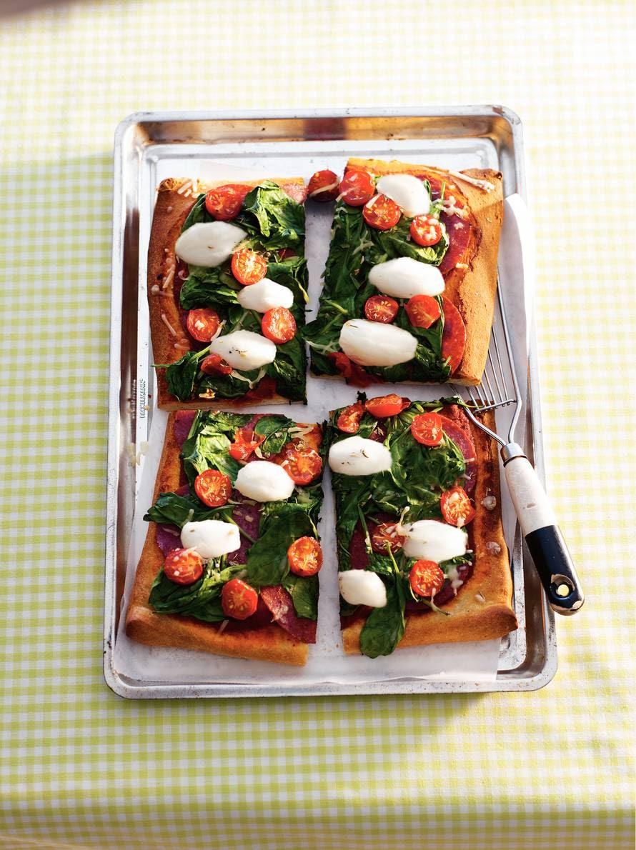 Driekleurenpizza