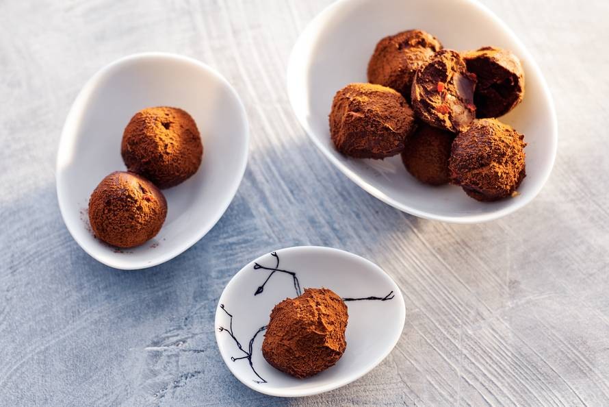 Pittige truffels