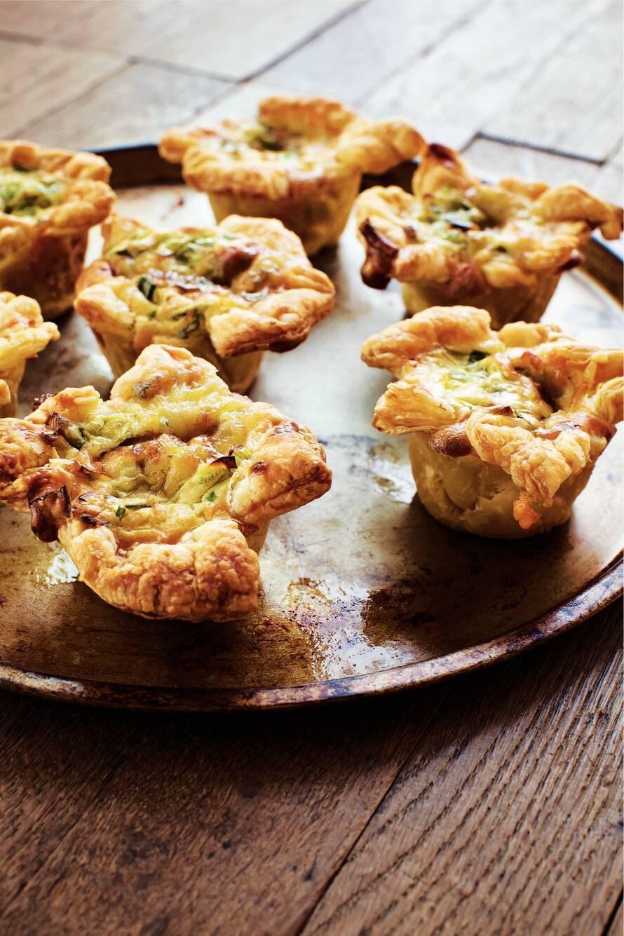 Gorgonzola-preicupcakes
