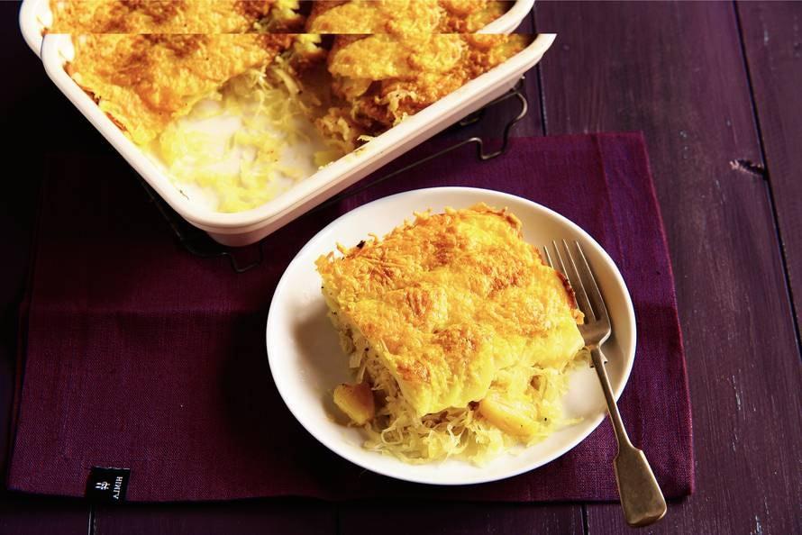 Aardappel en zuurkool
