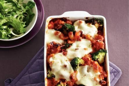 knorr ovenpasta tomaat mozzarella