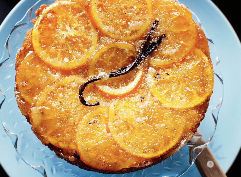 Sinaasappel-amandeltaart