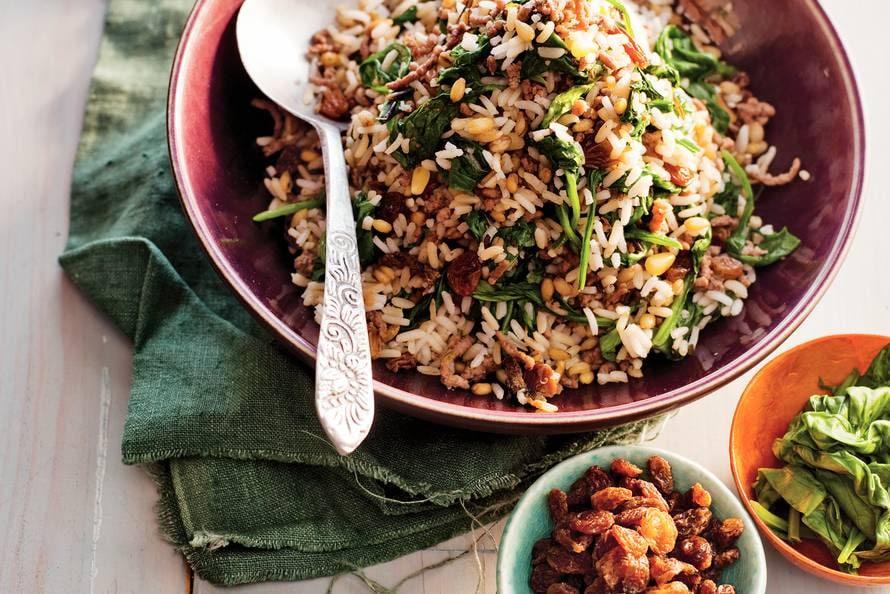 spinazie recepten met gehakt