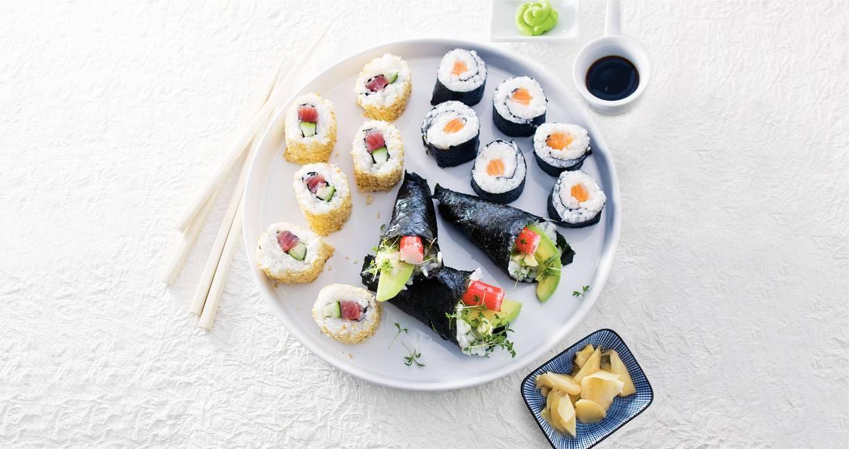 Sushirijst (sushi meshi)