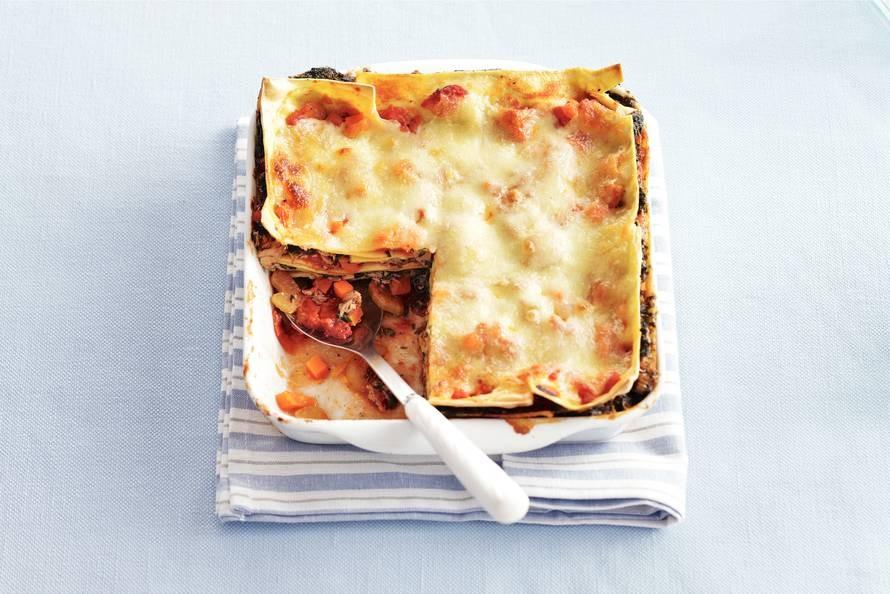 lasagne recept ah