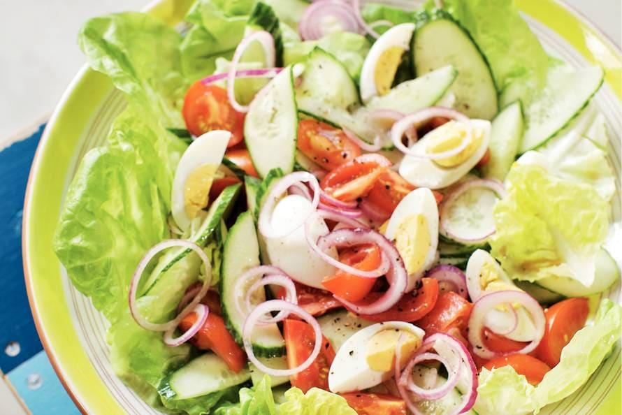 lekkere salade maken