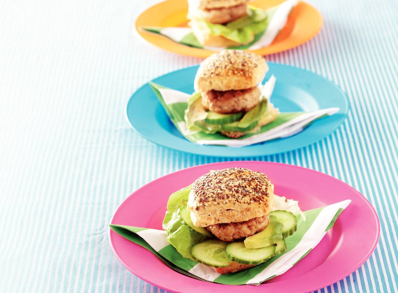 Frisse kipburgers