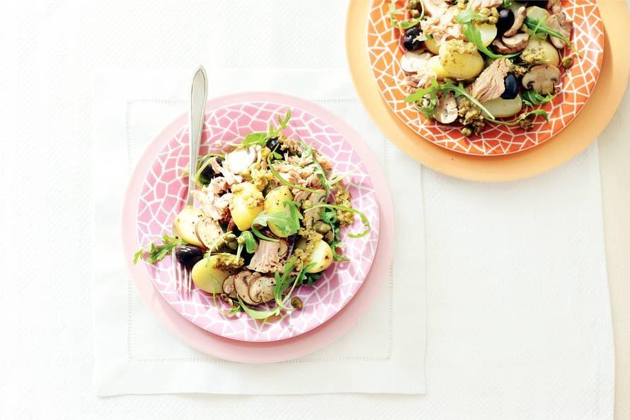 Mediterrane tonijnsalade