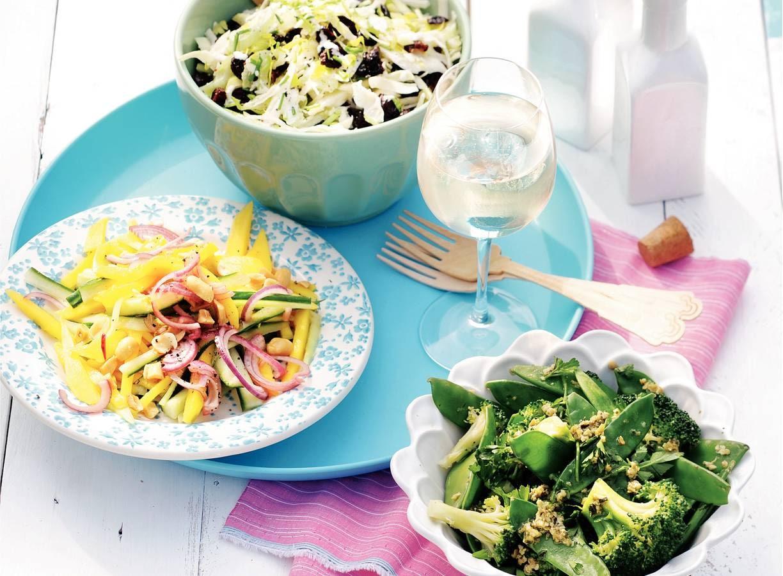 Broccoli-peultjessalade