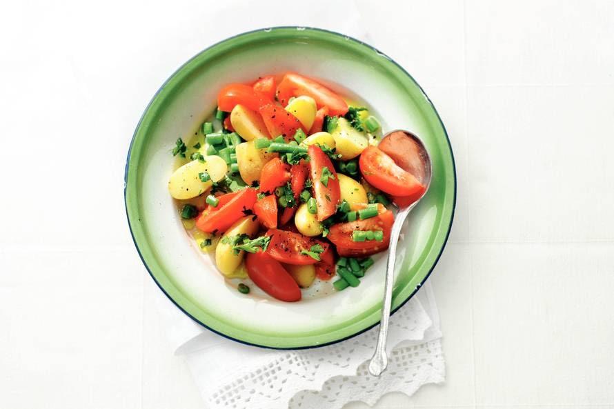 Tomaat-krielsalade