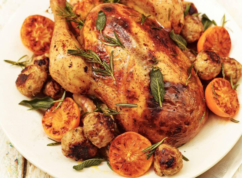 Klassieke vulling (voor kip)