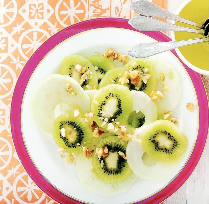 Kiwi-appelsalade