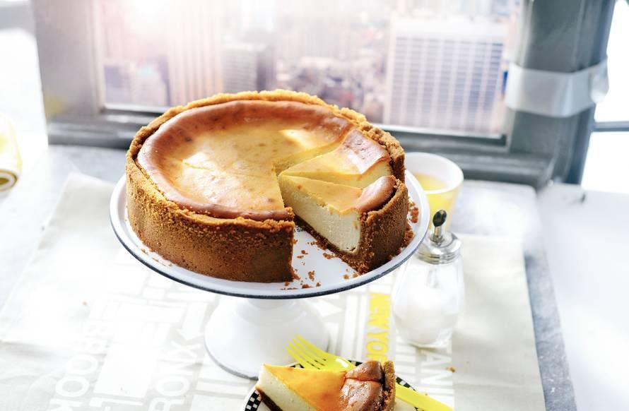 Romige New York cheesecake