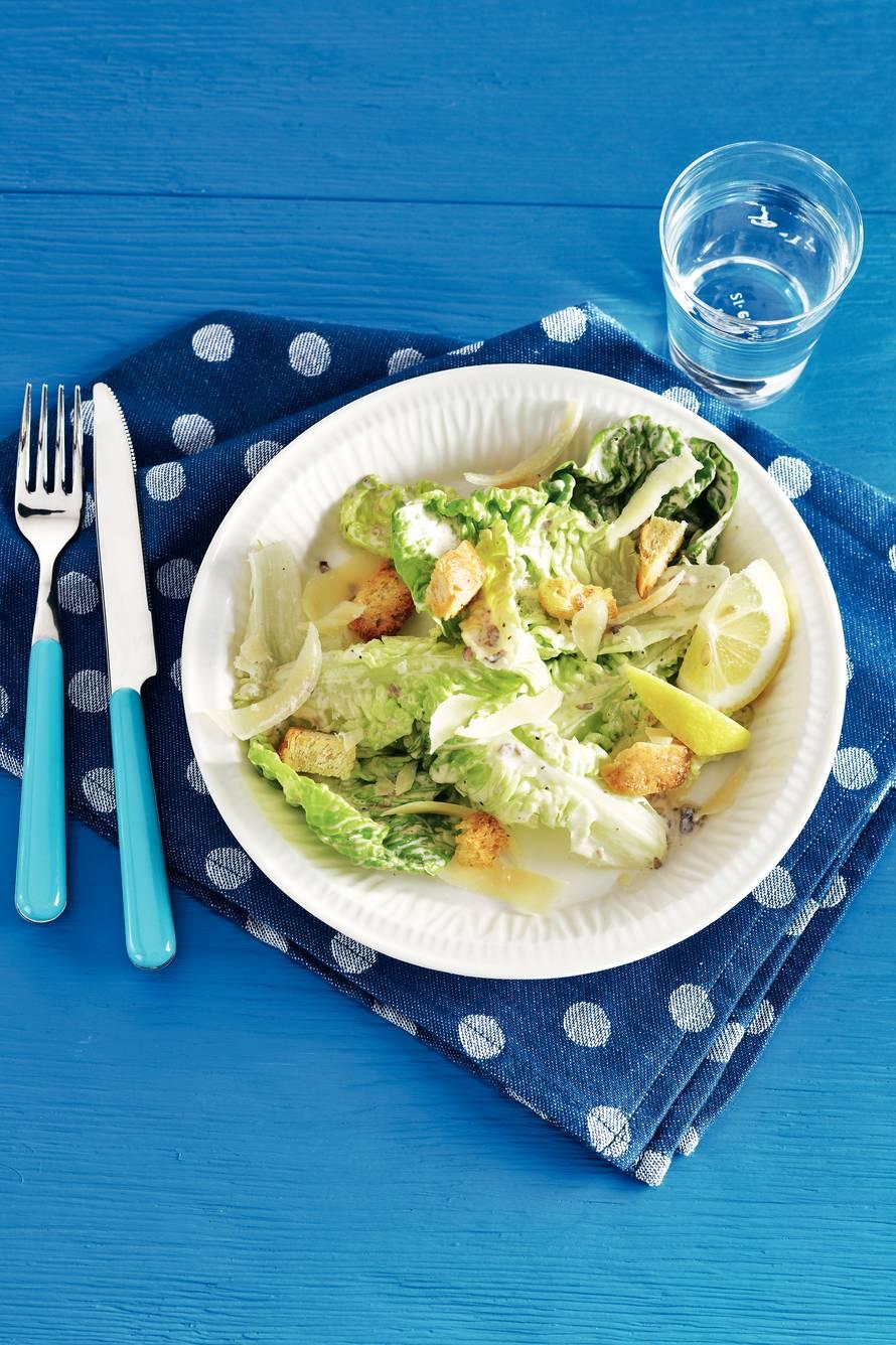 Amerikaanse caesar salad