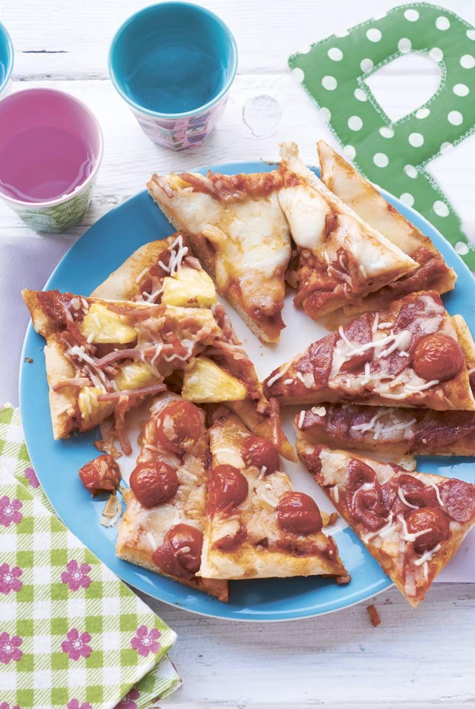 Pizza met je eigen beleg