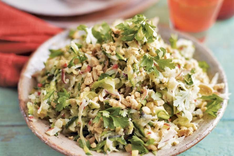 Knapperige salade